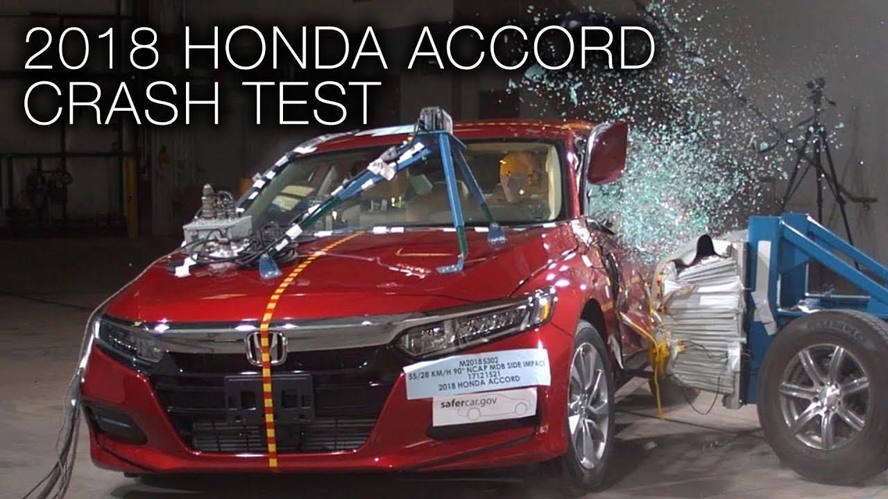 Honda Accord 2018 Side Crash Test