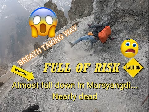 TREK TO TILICHO LAKE(DAY-1) || KHANGSAR to TILICHO  BASE camp ||  of risky adven