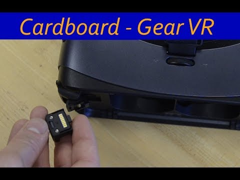 How to use Google Cardboard apps with Gear VR