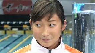 池江璃花子 【Rioでの目標】 100バタで決勝に行き 3リレー日本新出したい!