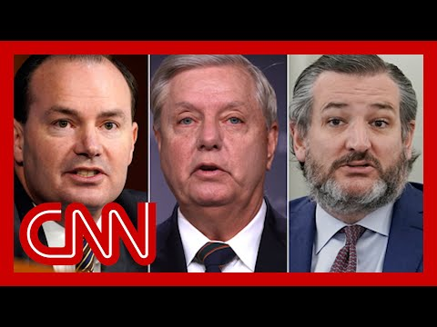 GOP Sens. Cruz, Graham and Lee meet with Trump defense lawyers