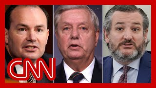GOP Sens. Cruz, Graham and Lee meet with Trump defense lawyers