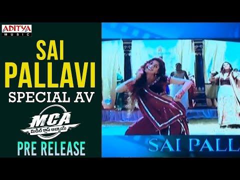 Sai Pallavi Special AV @ MCA Pre Release Event|| Nani, Sai Pallavi || DSP