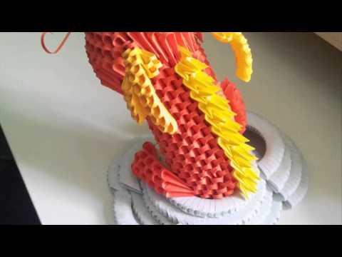 3d Origami Dragon
