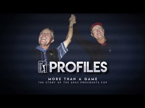 More than a Game   Story of the 2003 Presidents Cup