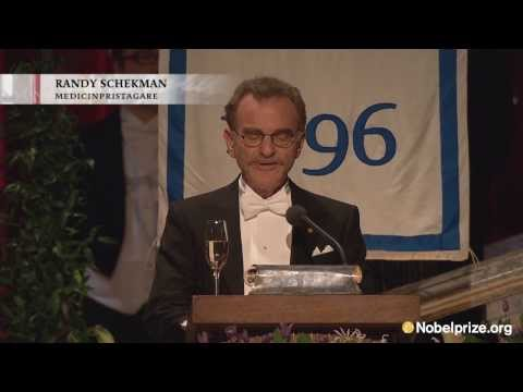 Nobel Banquet 2013 - Speech by Schekman