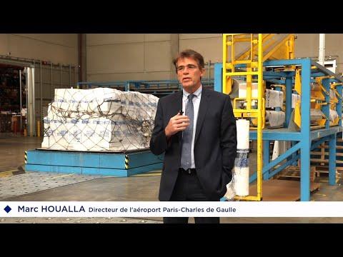 Covid-19 - Résilience de l'activité cargo : interview de Marc Houalla, Dir. de l'aéroport Paris-CDG