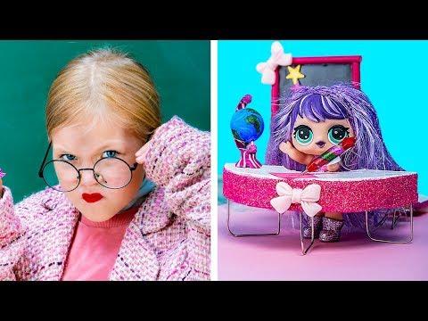 Школьные принадлежности для куклы ЛОЛ – 12 идей!