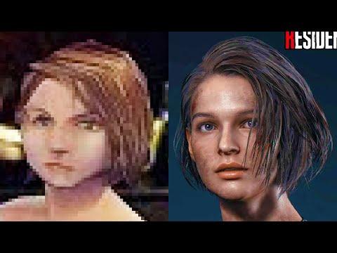 Evolution Of Resident Evil Biohazard 1996-2020