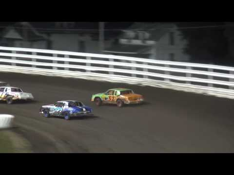 Night#2 Hobby Stock Heats 30th Annual Fall Challenge Southern Iowa Speedway 10/8/16