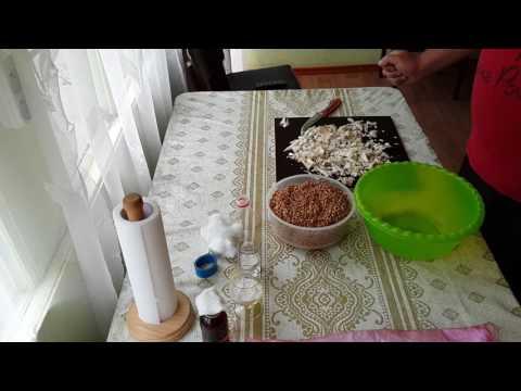 Как сделать зерновой мицелий вешенки дома?! Для выращивания на ПЕНЬКАХ! Упрощённый, легкий вариант.