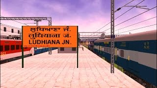 Amritsar Ludhiyana Passenger Express Train Part 2  In MSTS Open Rails By Sumit Mehrotra