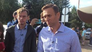 Алексей Навальный об Орловской полиции