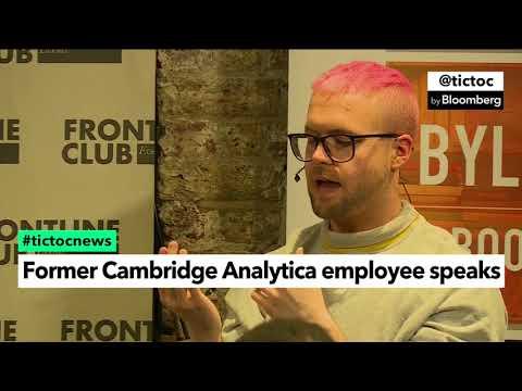 Former Cambridge Analytica Employee Speaks in London