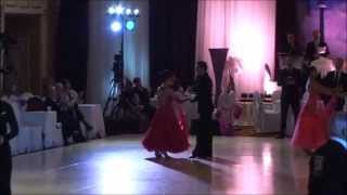 Dance With Me Toronto | student Talia at Toronto Open April 2015 | Waltz-Foxtrot-Quickstep