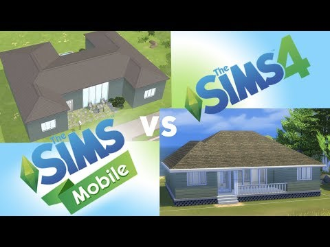 The Sims Mobile Speed Build: Building a Beachside Cottage - The Sims 4 Challenge Info!