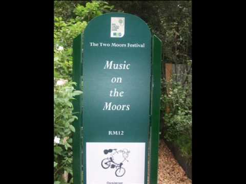 Chelsea Flower Show visitors discuss Music on the Moors