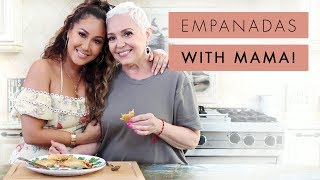 Adrienne Houghton and Mom Make Empanadas | All Things Adrienne