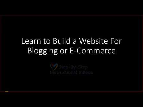 Learning How To Build Blog Or Website Part