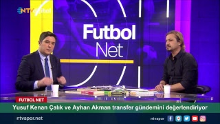 [CANLI] Yusuf Kenan Çalık ve Ayhan Akman Futbol Net'te transfer gündemini değerlendiriyor.