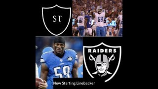 Raiders offseason moves