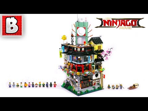 LEGO NINJAGO City Set 70620 Review! LEGO Ninjago Movie | Build Time Lapse