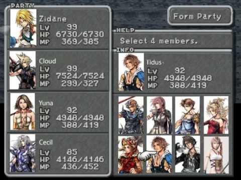 All final fantasy main characters - photo#10