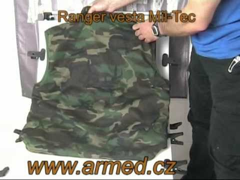 7b7888f674e5 Pánská vesta Ranger Mil-Tec - zateplená - YouTube