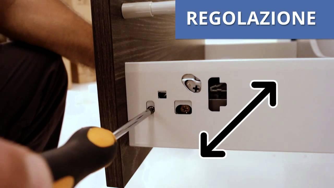 4 qubo regolazione cassetti youtube - Guide per cassetti ikea ...