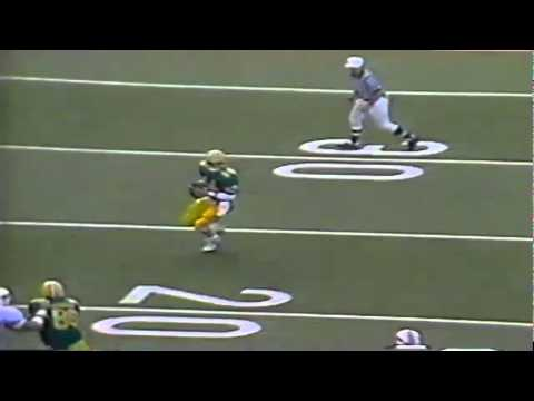 Oregon QB Bill Musgrave breaks every quarterback rule but still makes a big play vs. OSU 11-18-89