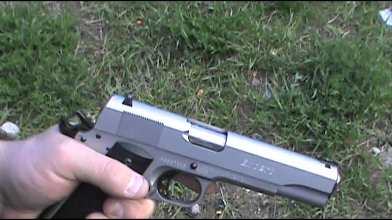 45 ACP vs 357 Magnum - YouTube