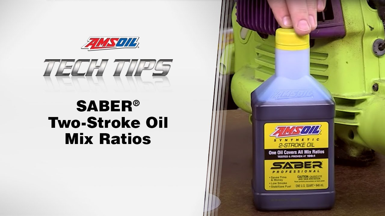 Why are There Different Two-Stroke Oil Mix Ratios for Chainsaw Oil