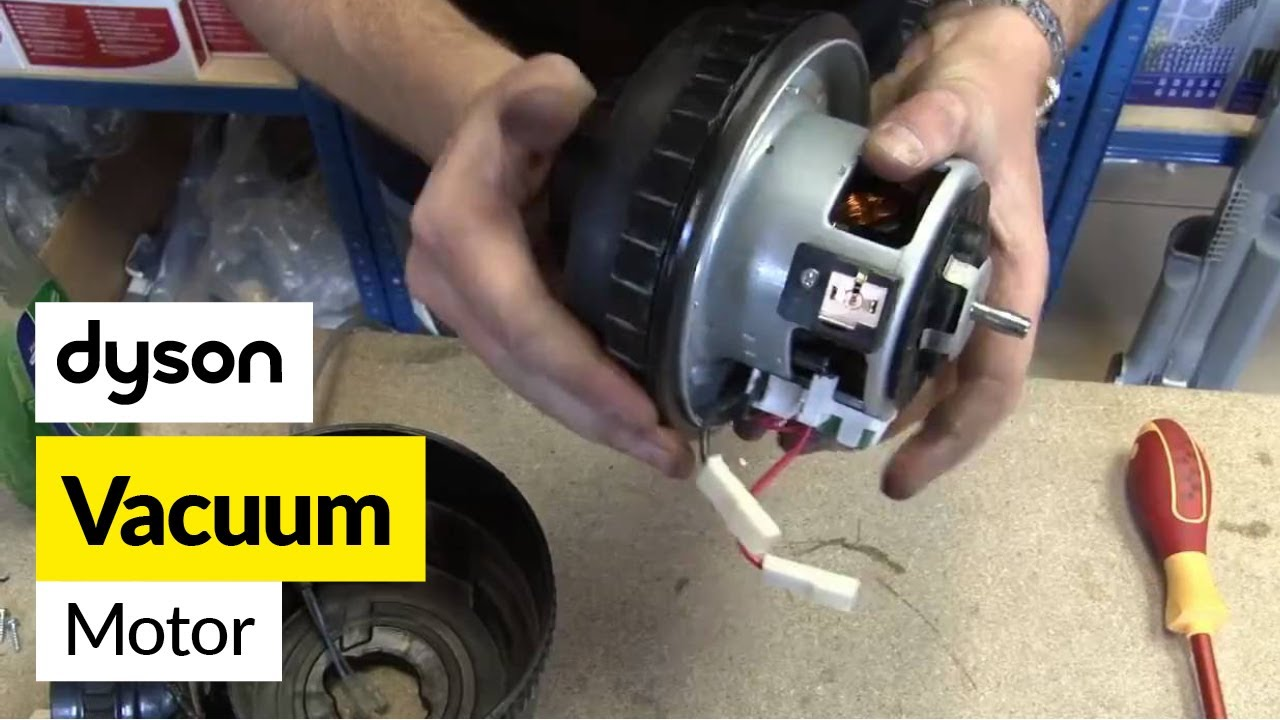 How to replace a Dyson motor on a Dyson DC07 vacuum cleaner