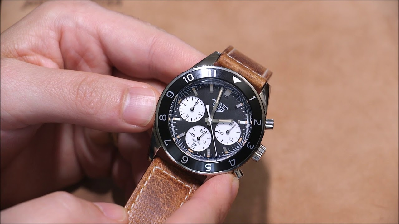 cc61f216a09 TAG Heuer Autavia Heuer 02 Watch Review