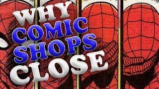 the main reason comic shops fail