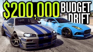 BEST DRIFT BUILD FOR 200K?! | Need for Speed Payback Online
