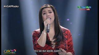 Regine Velasquez sings 'Hele ni Inay' on ASAP Natin 'To