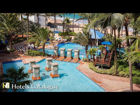 San Juan Marriott Resort & Stellaris Casino Tour & Info - Luxury Hotel in Puerto Rico