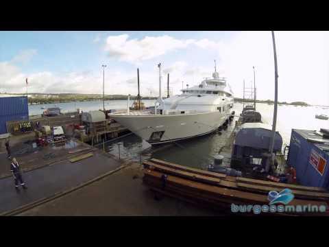 Burgess Marine Ltd - Tacanuya Lift Timelapse