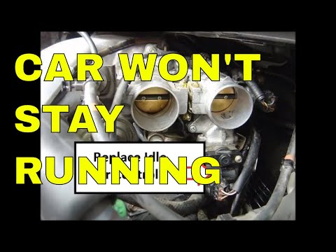 Car Won't Stay Running Unless Foot Is On Gas