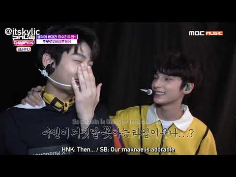 [ENG] Tomorrow X Together (TXT) Show Champion Behind Part.2