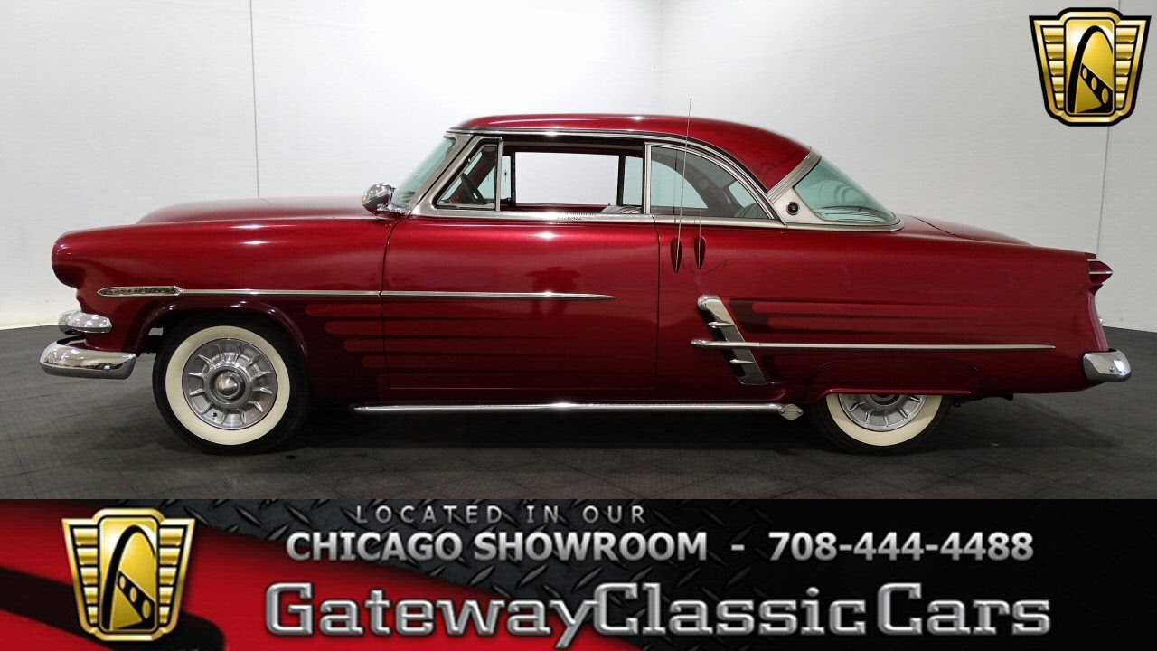 1953 Ford Crestline Victoria Gateway Classic Cars Chicago #1198 ...