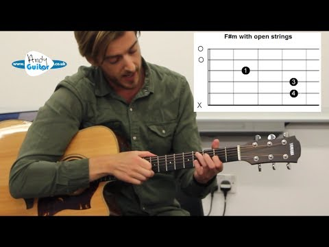 Easier Alternative To F#m Barre Chord - Barre chord TRICK!