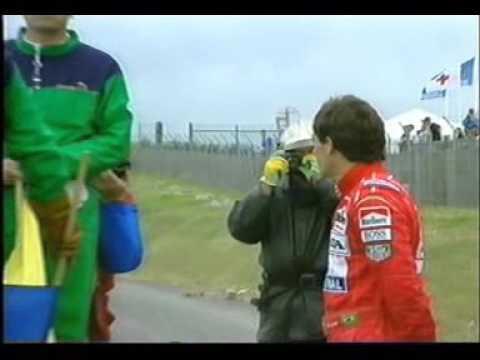 1992 MagnyCours Schumacher Senna accident