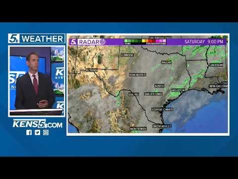 FORECAST: Meteorologist Jeremy Baker Has A Rainy 7-day Forecast