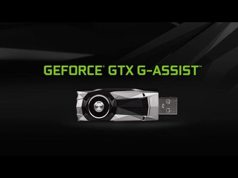 Nvidia G-Force GTX G-Assist (2017)better experience