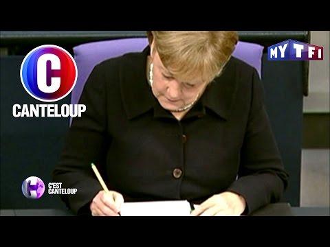 C'est Canteloup - Lettre d'amour entre Angela Merkel et Nicolas Sarkozy