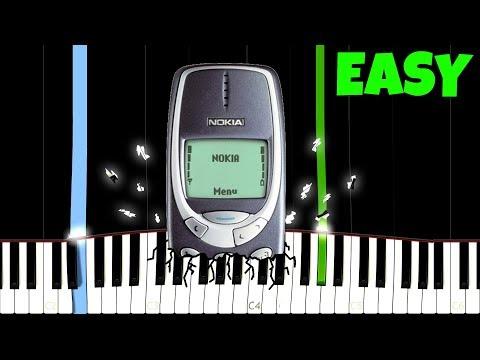Nokia 3310 Ringtone [Easy Piano Tutorial]
