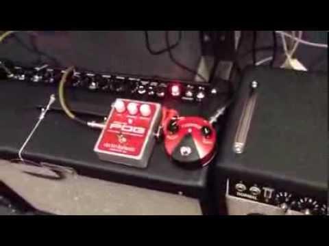 Electro Harmonix Micro Pog mixed with the Mini Fuzz Face