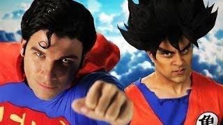 Goku vs. Superman [Letra Inglés\Español] (ノ^_^)ノ